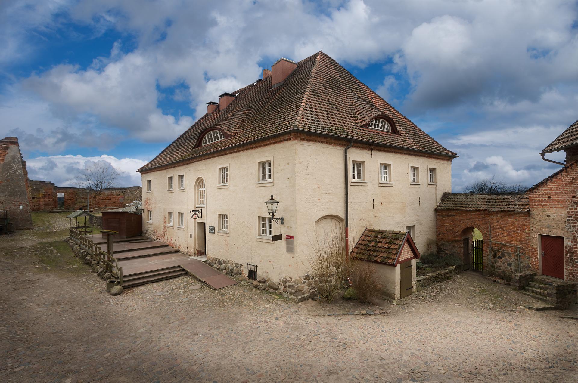 Alte Münze - Burg Stargard