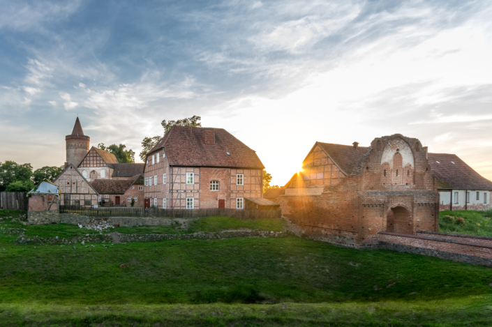 Höhenburg Stargard - Burg Stargard